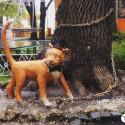 Город Пенза. Арт — объект «Кот ученый»