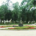 Город Пенза. Памятник Лермонтову (Сквер Лермонтова) фото