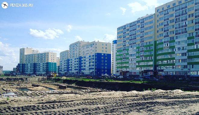 стройка Город Спутник фото
