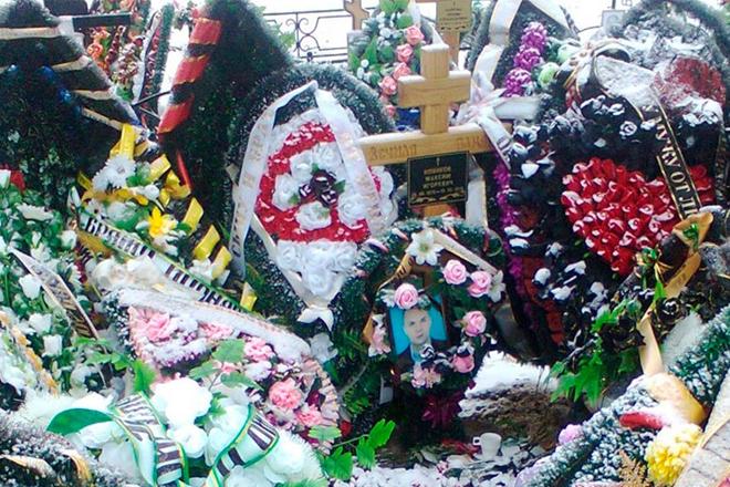 Могила Макса Пионера на Зареченском кладбище, Пензенская область