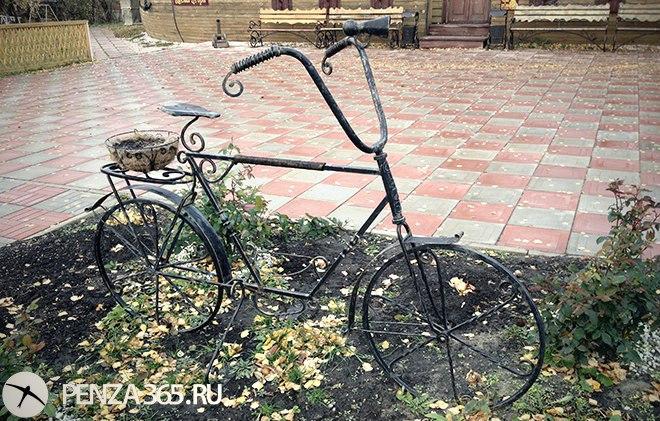 """Арт-объект """"Велосипед"""" пенза"""