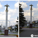 Монумент «Добрый Ангел Мира» пенза