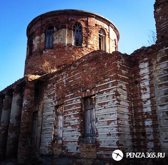Село Лебедевка. Церковь во имя иконы Владимирской Божьей Матери