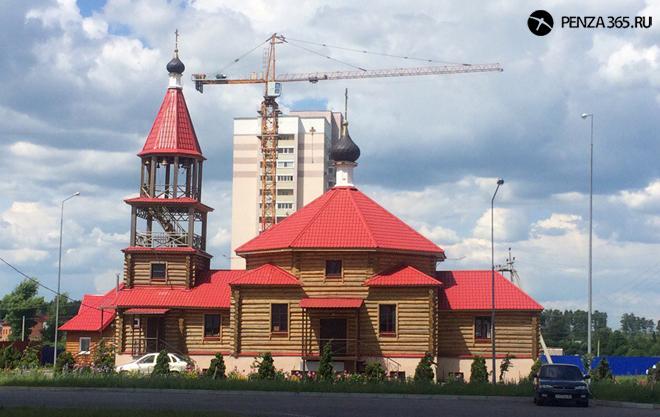 церковь_адриана и наталья фото пенза