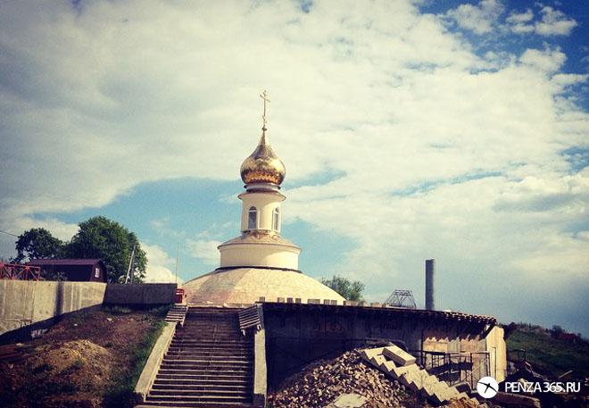 церковь в селе большая валяевка фото