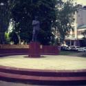 Город Пенза. памятник Пензенским милиционерам – защитникам закона и правопорядка.