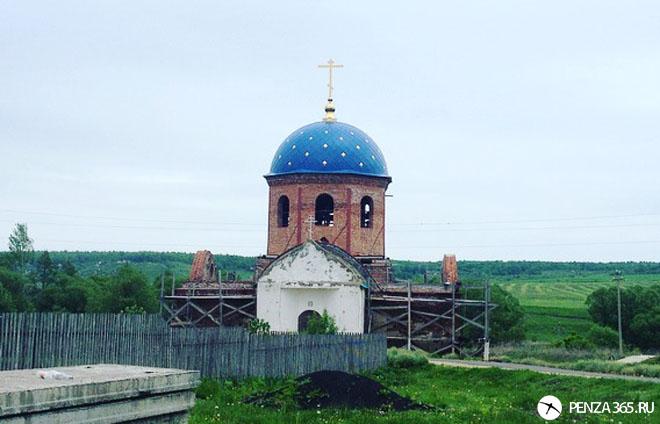 церковь фото в Пензе.