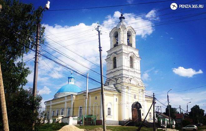 храм в Пензенской области. фото