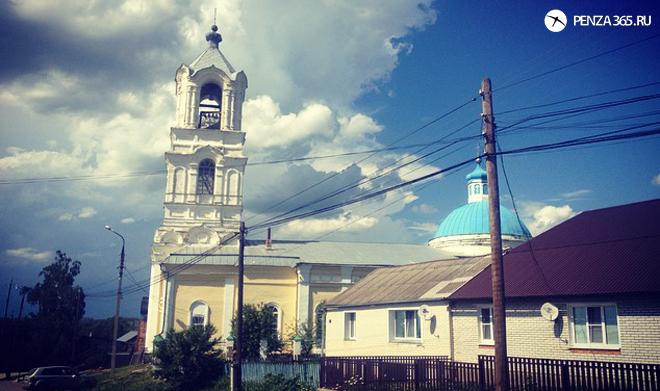 церковь в макшане
