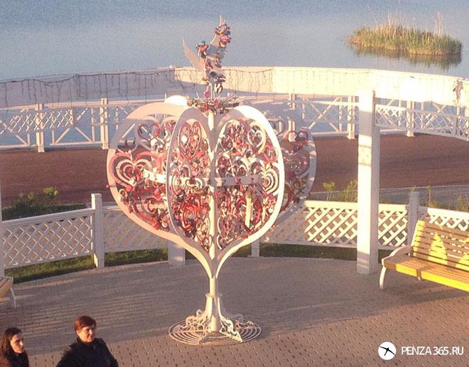 пенза, город спутник, дерево любви
