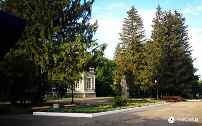 фото Город Пенза. Памятник Ленину – Парк культуры имени Белинского.