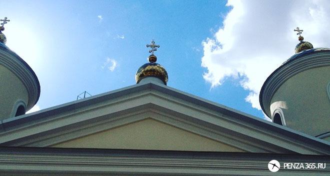 храм, церковь, святой источник в пензе