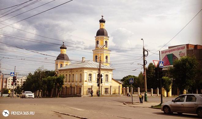 Покровский собор Пенза.