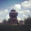 поселок Мокшан. сторожевая башня фото