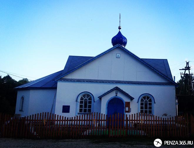 Село Золотаревка. Храм Боголюбской иконы Божьей Матери фотография