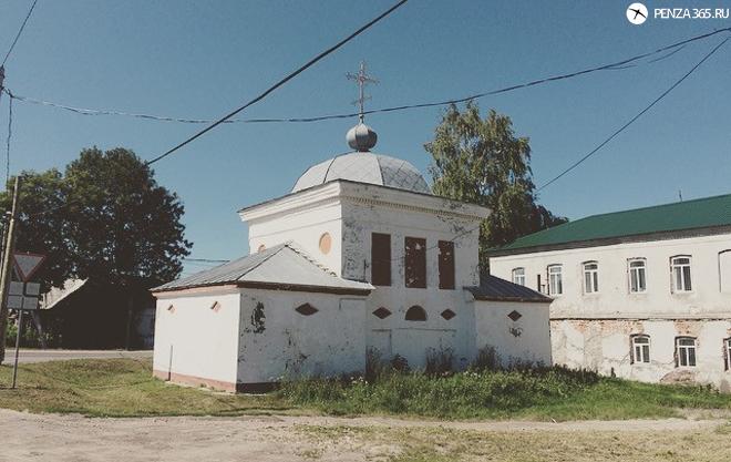 часовня в Наровчате. фото