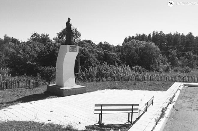 фото Село Наровчат. Памятник мокшанской княгине Нарчатке.