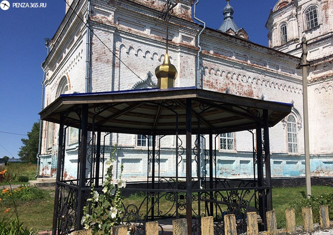 фото 2016 Село Усть – Каремша. Церковь Вознесения Господня