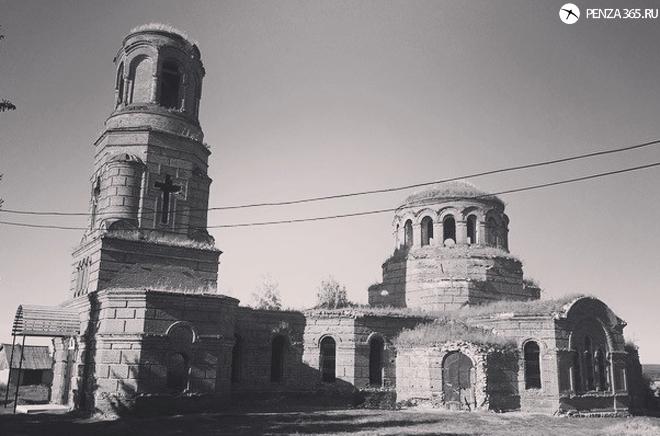 Село Усть – Каремша. Церковь Покрова Пресвятой Богородицы. фотография 2016