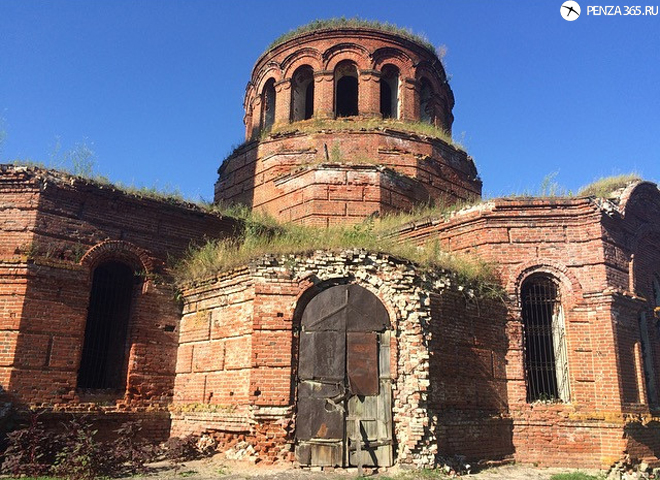 фотография 2016 Село Усть – Каремша. Церковь Покрова Пресвятой Богородицы.